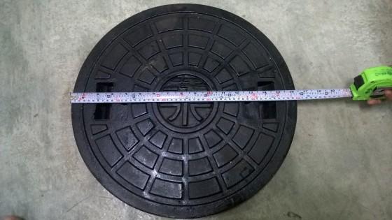 防臭式污水鑄鐵蓋圖