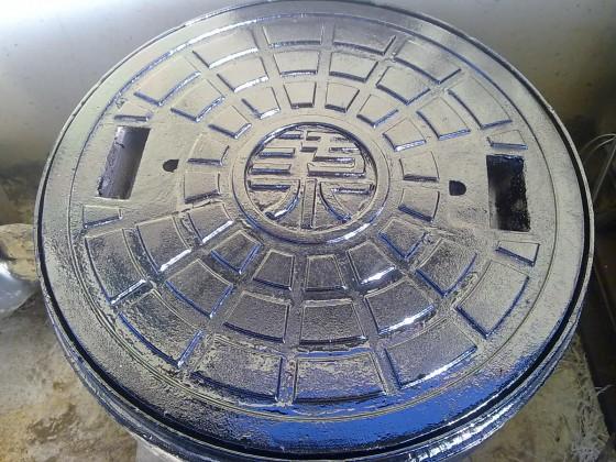 防臭型污水鑄鐵人孔蓋